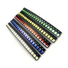 100 pcs 슈퍼 밝은 1210 3528 smd led 5 색 레드/그린/블루/옐로우/화이트 아이스 블루 led 다이오드 3.5*2.8*1.9mm