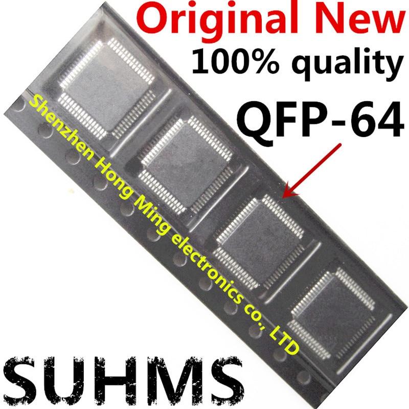 (10 قطعة) 100% جديد MC9S08AC60 MC9S08AC60CFUE MC9S08AC60 CFUE QFP-64 شرائح