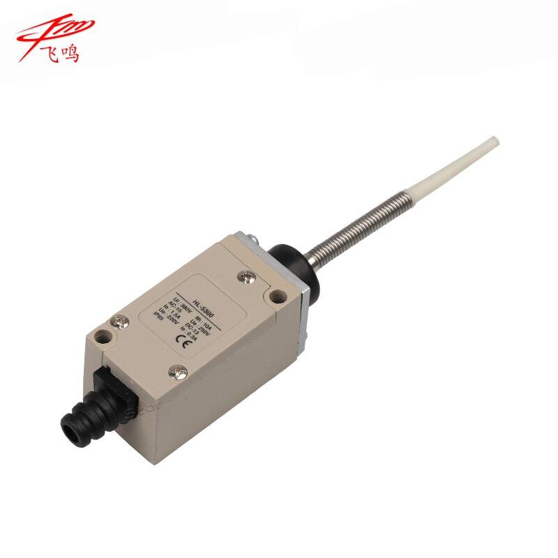 Interruptor de límite AC DC NONC 380V 10A interruptor de viaje auto reinicio IP65 impermeable HL-5300 alta calidad HL5300