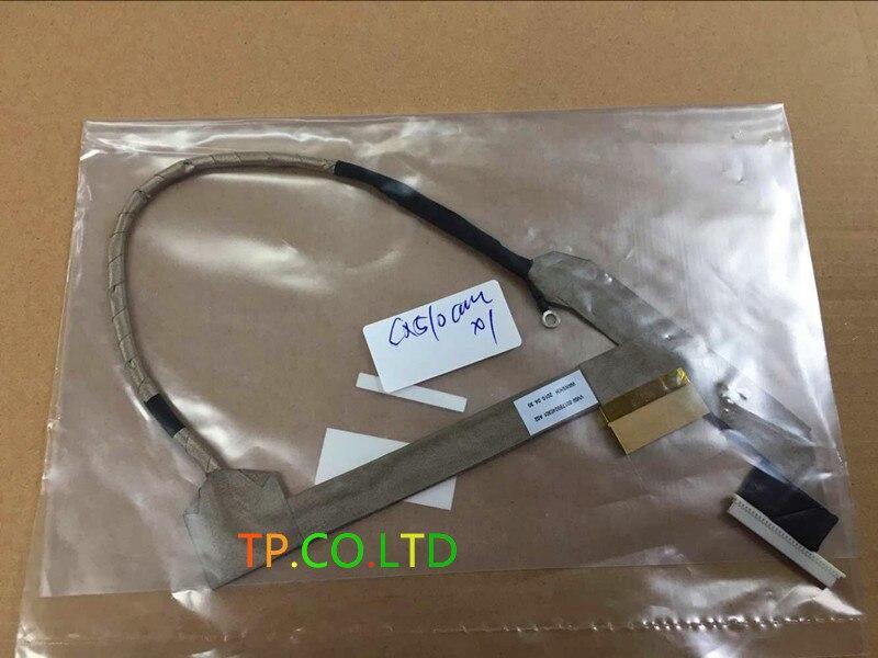 Véritable Nouveau écran lcd dordinateur portable câble Pour HP COMPAQ 510 511 515 516 610 615 écran câble 6017b0200702