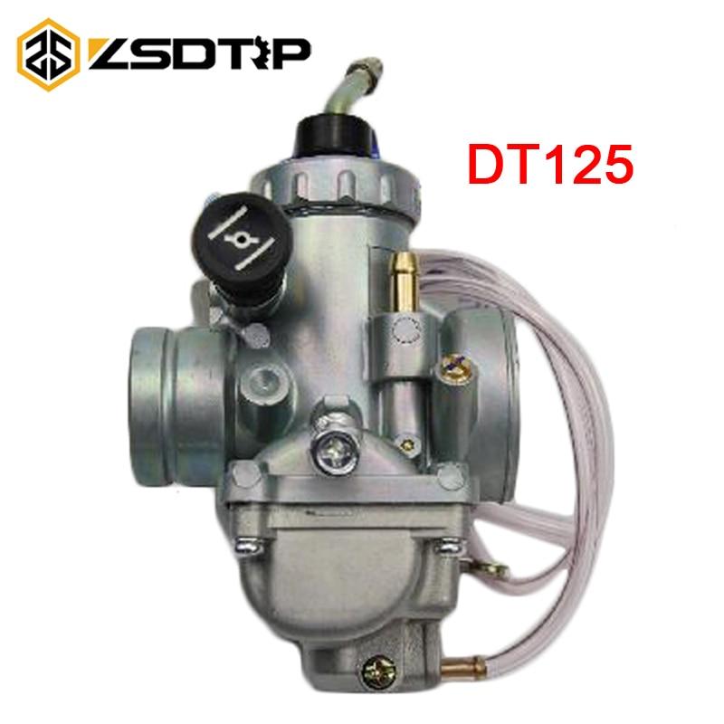 Карбюратор ZSDTRP 28 мм для мотоцикла, карбюратор для велосипеда-грязи, Yamaha DT125 DT 125 Suzuki TZR125 RM65 RM80 RM85 DT175 RX125