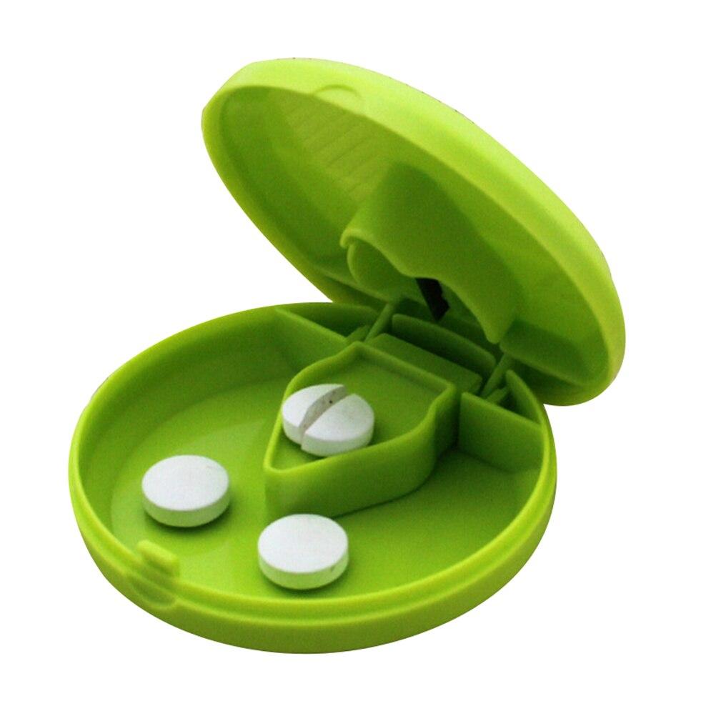 1 unidad de pastillero, divisor de pastillas, Material PP, organizador portátil para medicina, divisor, caja de almacenamiento