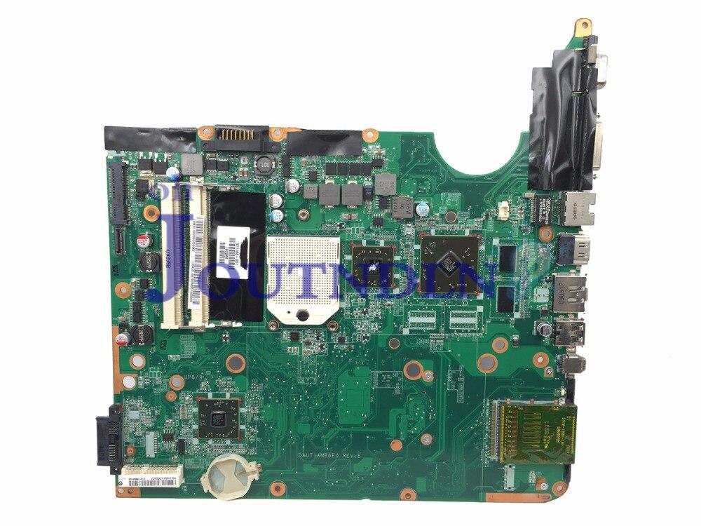 Placa base JOUTNDLN para ordenador portátil HP DV6 DV6-2000 S1 571188-001 DAUT1AMB6E1 DAUT1AMB6E0 DDR2 W/HD4500 GPU Envío gratuito CPU