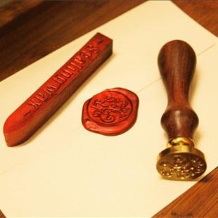 Envío Gratis, 1 Uds., solo sello al por menor, sellos de cera de sellado, vintage, diseños románticos clásicos, color latón, 1 juego = 1 Uds