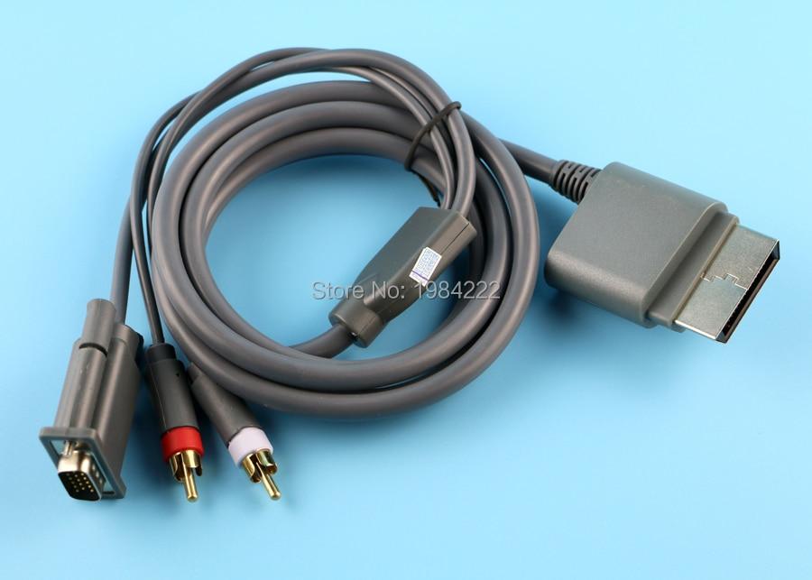 OCGAME-Cable VGA HD AV de alta calidad, componente de 1,8 m, Cable...