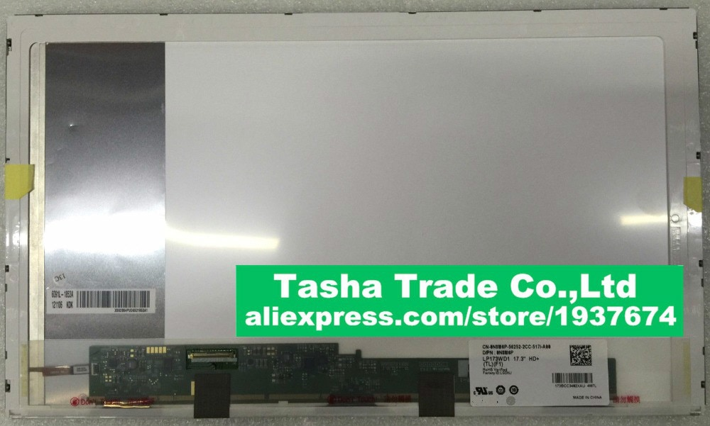 17,3 for Asus n73s X70 A70 N76 K73Y K73 para portátil de reemplazo pantalla led LCD de ordenador portátil matriz 1600*900 40pin