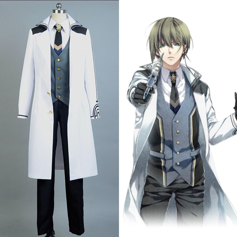 Norn9 Natsuhiko Azuma Uniform Cosplay Costume For Men Full Set Costume