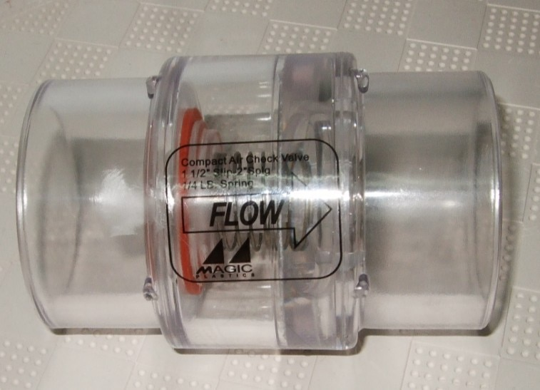 سبا الإستحمام منفاخ الهواء نظام ، طريقة واحدة صمام 2
