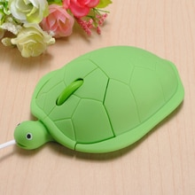 2019 beau cadeau kawaii tortue filaire souris pour ordinateur gamer souris drôle cadeau filaire souris 2.0 usb 3D tortue Animal souris