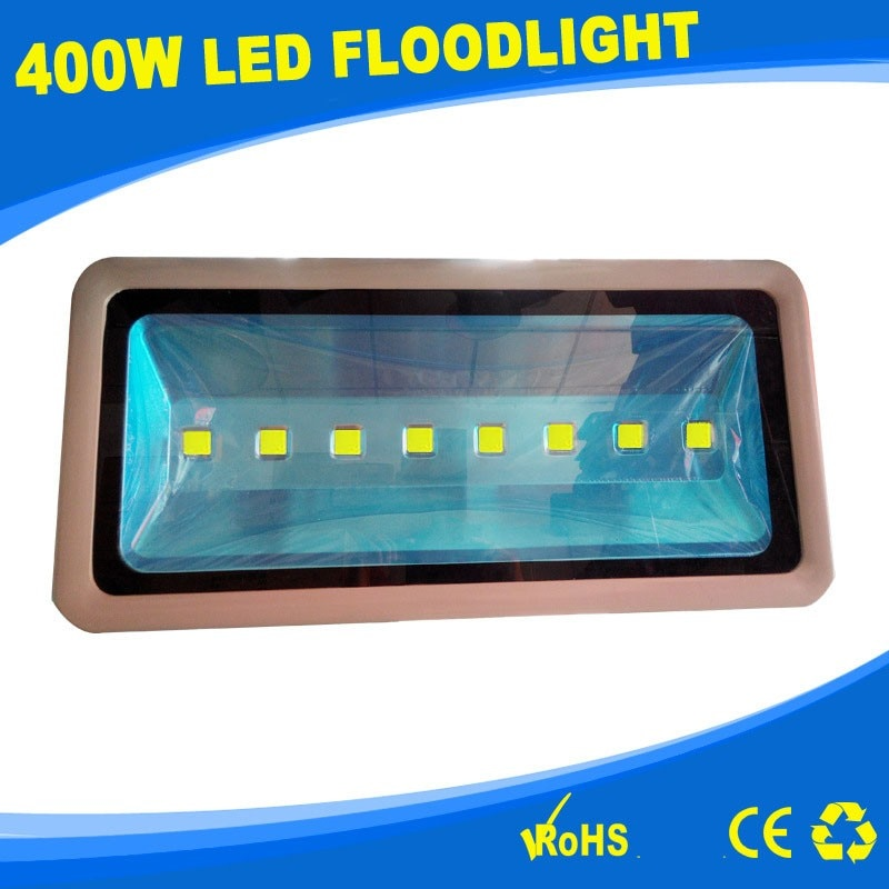Reflector LED ip67waterproof 85-265V 110v 400w 45mil rojo Azul Rojo cálido/blanco frío 2 unids/lote