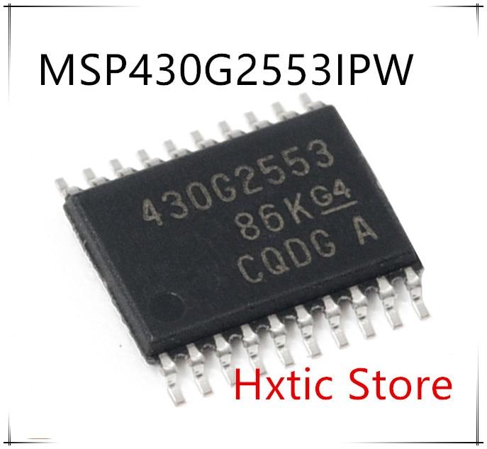 Nuevo 10 unids/lote MSP430G2553IPW28R MSP430G2553IPW MSP430G2553 430G2553 TSSOP-28