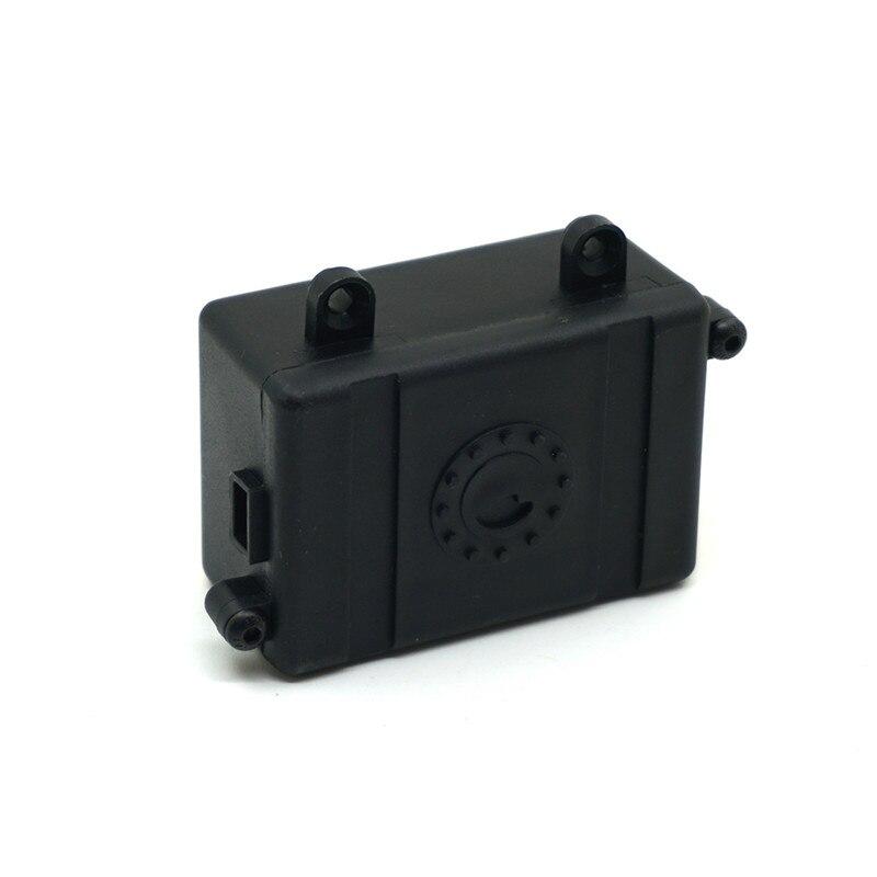 1PC Black RC Car Radio Box Parts Plastic ESC Receiver Box for 1/10 D90 D110 Axial SCX10 Crawler Car High-quality