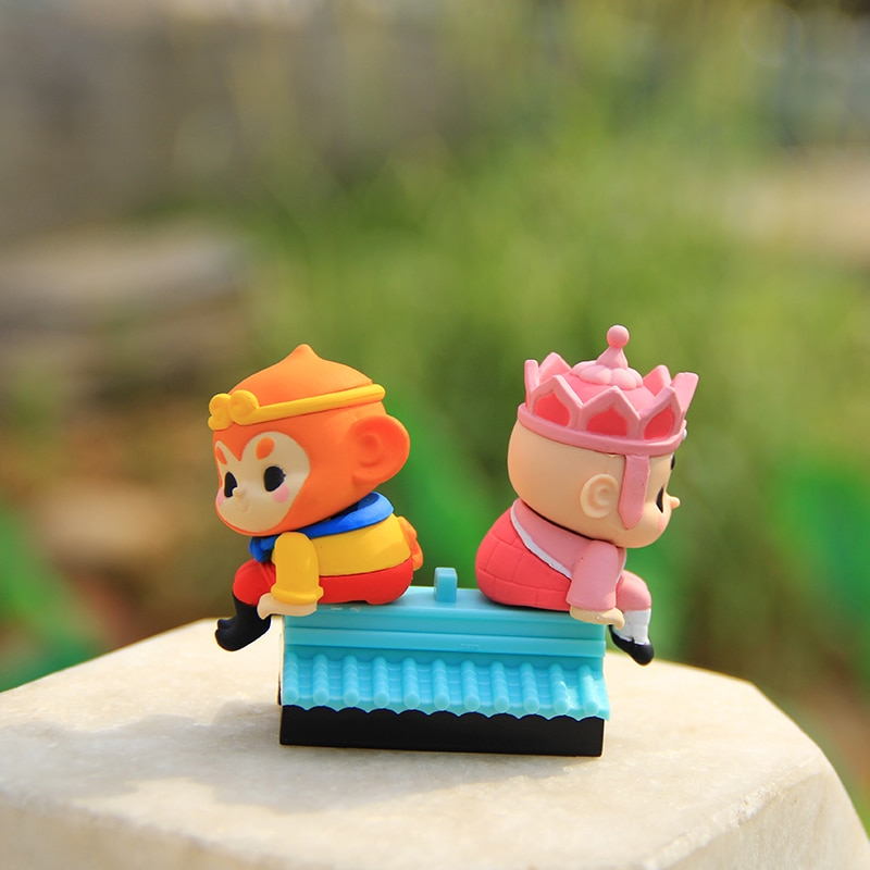 52TOYS On the roof of The Journey to the West fashion toys cute gifts Ornament