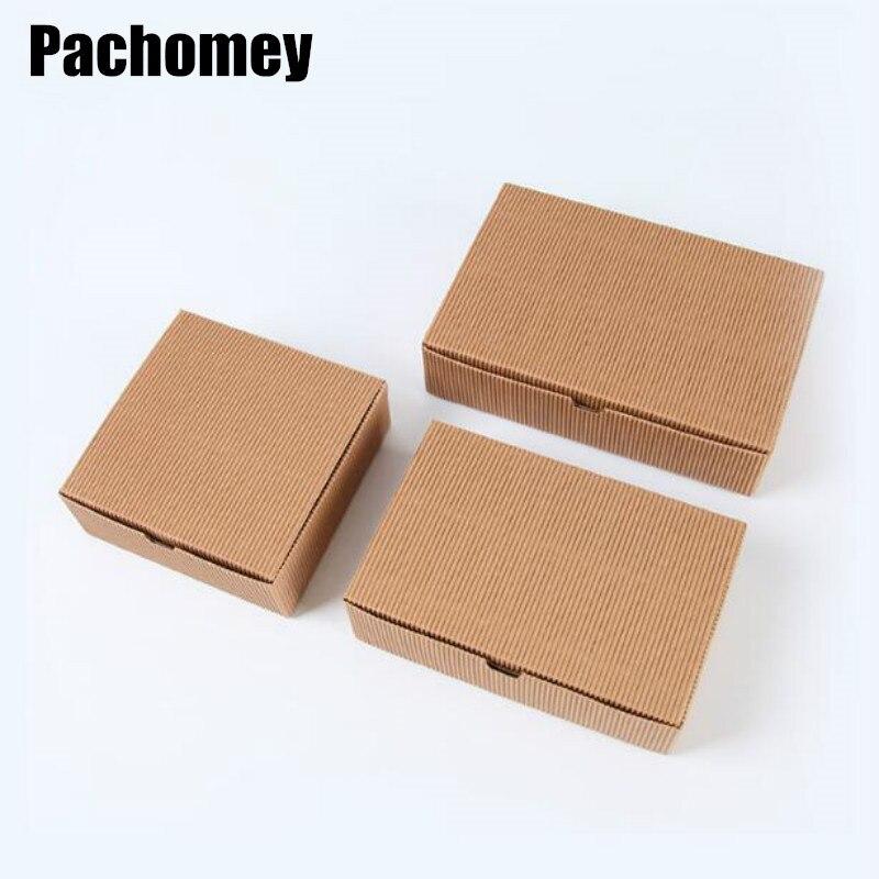 10 unids/lote de cajas de cartón de Papel Kraft para aviones, cajas de embalaje de papel Kraft para regalo de artesanía 19022802