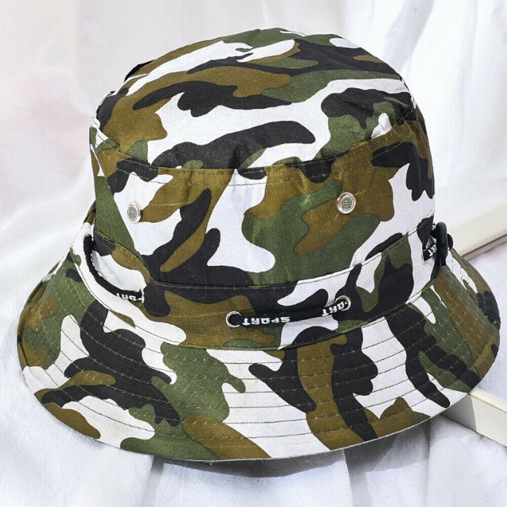Chapéu do tipo bucket hat, chapéu unissex do tipo bucket hat, de verão, para o ar livre