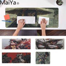 MaiYa Samurai wojownik dziewczyna Comfort Mouse Mat Gaming podkładka komfort myszy mata Gaming podkładka
