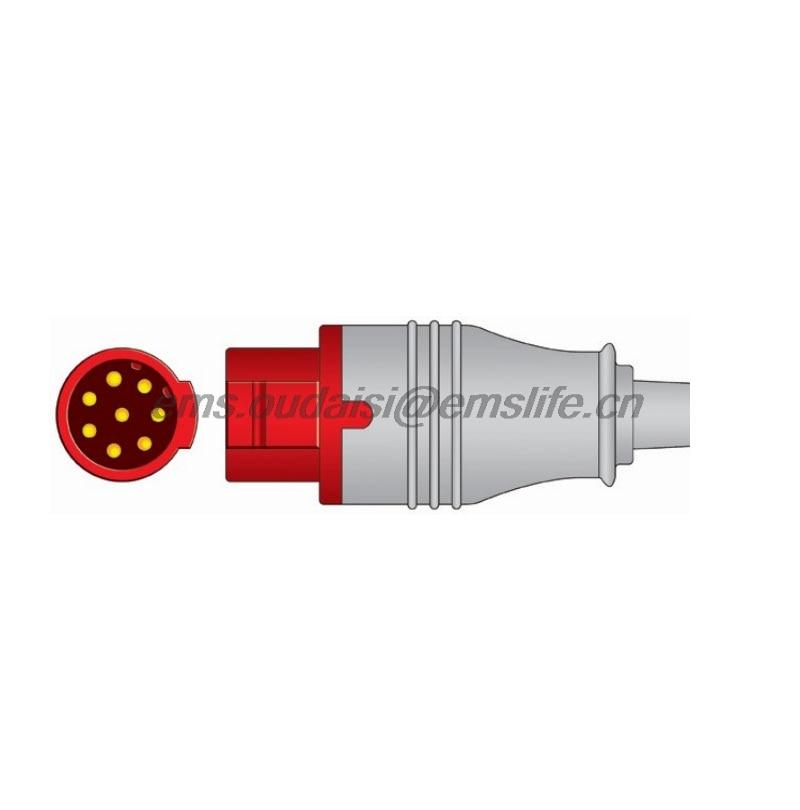 Desodorante 8pin IBP conector para cable monitor paciente
