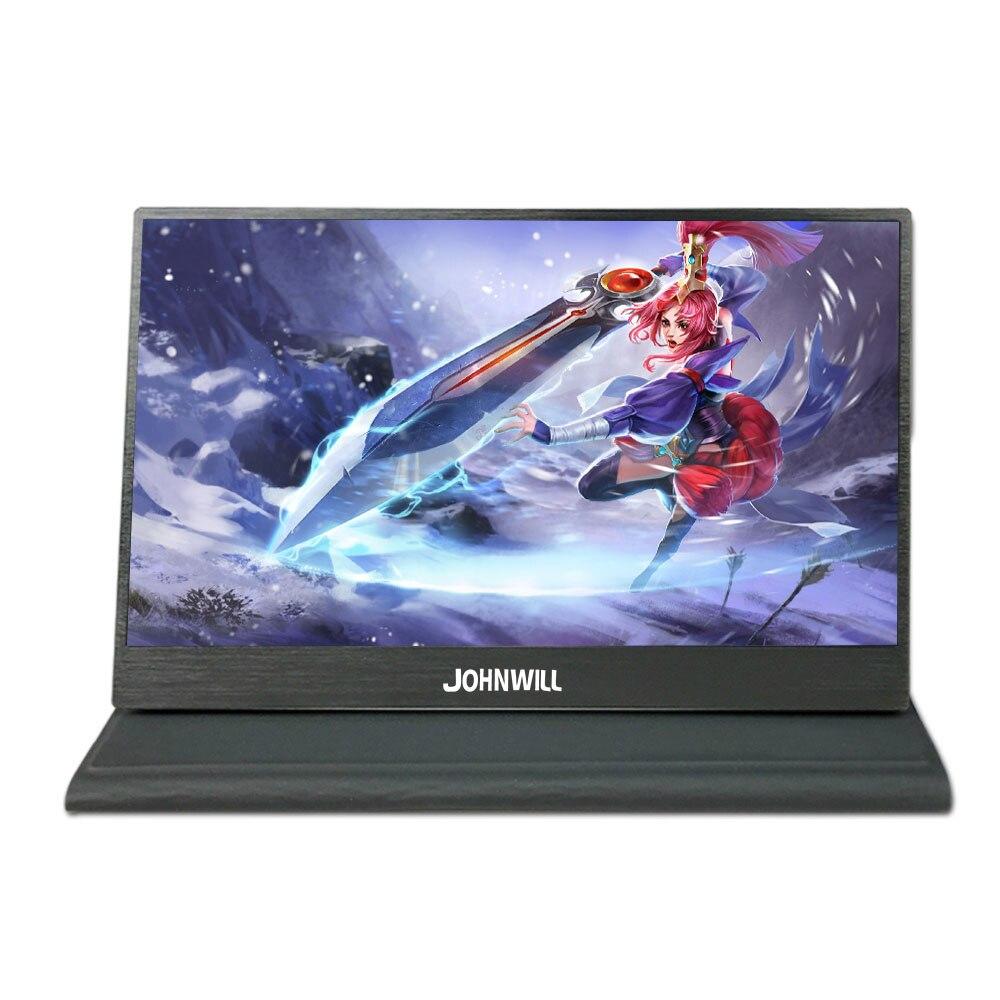 "Monitor portátil delgado de 11,6/15,6 pulgadas CNC IPS Full HD pantalla de ordenador de juegos HDMI Puerto 13,3 ""2 K 2560*1440 pantalla LCD para PS3 PS4"