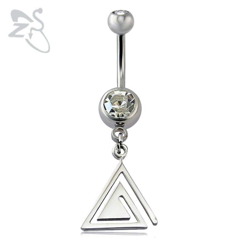 Треугольная-подвеска-Кристалл-пупка-кольца-капли-из-нержавеющей-стали-колокольчики-пупка-пирсинг-ombligo-Женский-пирсинг-nombril
