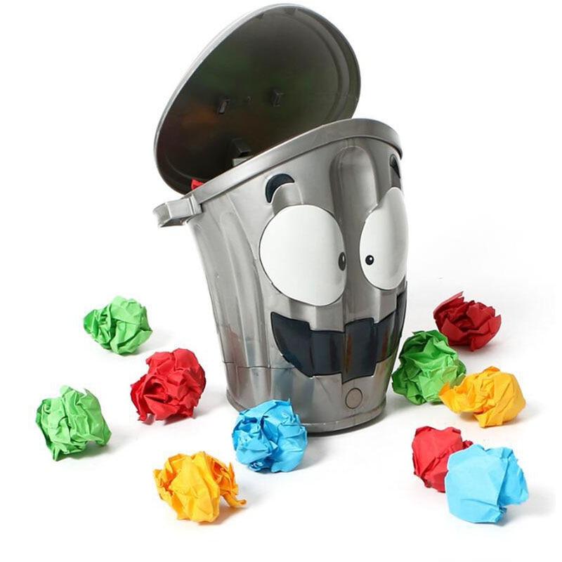 Funny Antistress Party Games Trick Running Garbage Shocker Joke Gadget Interactive Games Indoor sensory toys Gift For Children