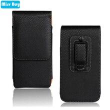 Universal Phone Pouch Leather Bag Flip Cover For ASUS ZenFone Max Pro M1 ZB602KL Max Pro M2 ZB631KL Cover Belt Clip Waist Case