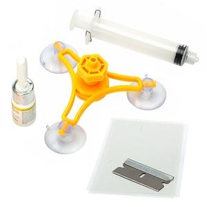 Image 1 - LEEPEE DIY набор для Ремонта Лобового Стекла, автомобильный инструмент для ремонта стекла, автомобильный Стайлинг, полировка экрана окна, чип трещины, автомобильный комплект для обслуживания