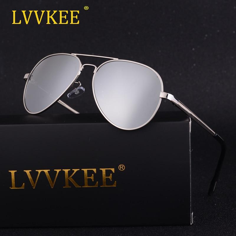 2018 LVVKEE gafas de sol polarizadas de lujo para niños y niñas, gafas de sol geniales para niños y niñas, diseño de marca de aleación, piloto polarizado con funda