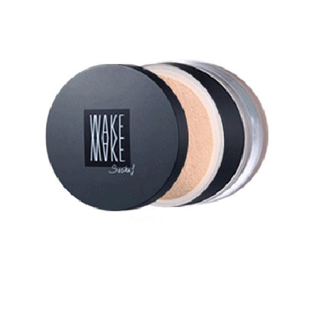 Corrector de cara acabado de la piel Control de aceite de polvo de plástico de larga duración suelto mate polvo 0,28 oz/8g