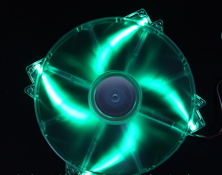 Fall fan Bunte LED fan, 12V DC, Optional USB 12 V, 200mm, 20cm fan, für computer Fall, CoolerMaster CM20030-LED