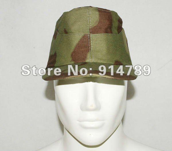 WW2 الألمانية الإيطالية CAMO FIELD CAP حجم XL-31208