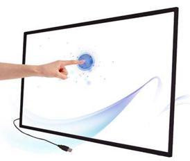 لوحة تعمل باللمس بالأشعة تحت الحمراء ، شاشة تعمل باللمس 10 نقاط 98 بوصة لشاشة led/lcd