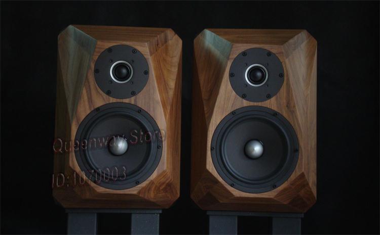 SEAS HIFI altavoz tweeter E0040 + midragange-bass 0042 real altavoz clásico negro nogal madera altavoz DIY
