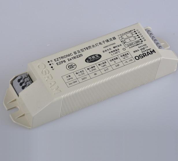 Электронный балласт T8 широкий диапазон напряжения 198 264 В переменного тока 2X18w t8