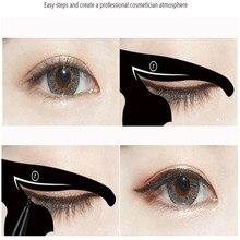 2 sztuk kobiety Cat Line Pro narzędzie do makijażu oczu Eyeliner szablony szablon Shaper Model prezent Dec 21 Drop Ship #30 1031 X0424 0.5 010