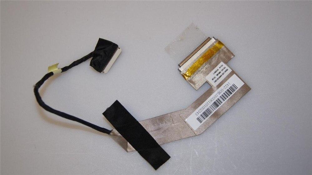 Nuevo LED LVDS HANNSTAR Cable para ASUS EPC Eee PC 1005HA 1005HAB 1015PE P/N 1422-00ML000 de teflón pantalla de vídeo datos
