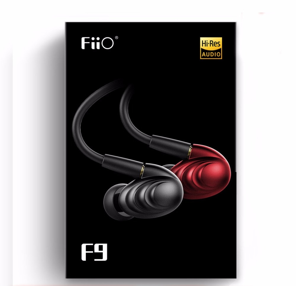 FiiO F9 Triple Driver Hybrid 1 Dynamic + 2 Balanced Armatures  In-ear earphone with Detachable Cables for iPhone/XiaoMi/Huawei enlarge