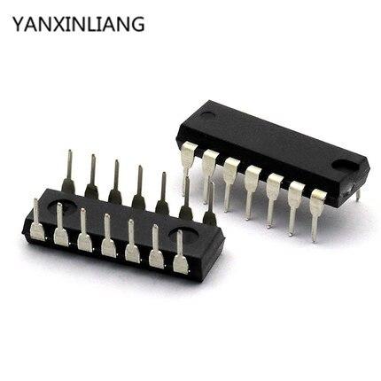 100PCS SN74HC32N DIP14 SN74HC32 74HC32N 74HC32 DIP IC novo e original