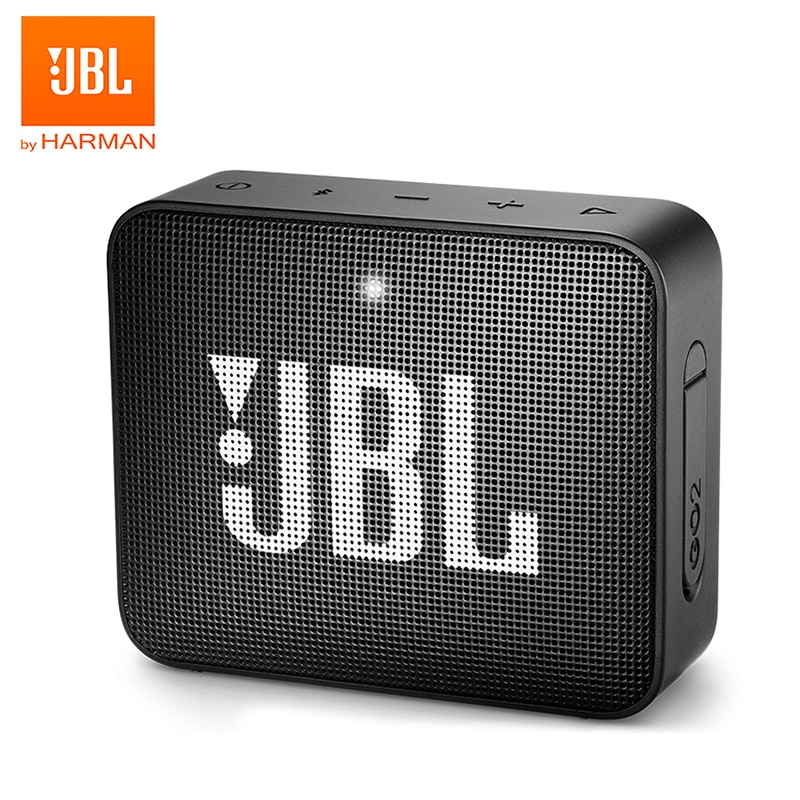 Jbl-altavoz Go 2 Bluetooth Original, altavoz portátil IPX7 impermeable para exteriores, altavoz deportivo Go 2 con batería recargable y micrófono