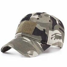 Casquette de Baseball Camouflage en coton   Casquette de Baseball pour hommes et femmes, casquettes à rabat, chapeau tactique, casquette de Camouflage, casquette dété pour Sniper, visière réglable