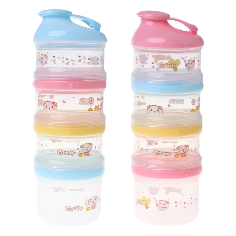 Детский контейнер для молочного порошка портативная формула хранения продуктов