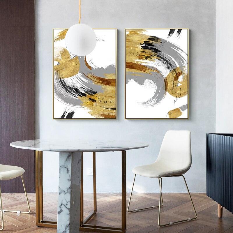 Pintura en lienzo creativa contra salpicaduras de tinta abstracta, póster nuevo de estilo chino, Impresión de arte para pared, sala de estar imagen para, dormitorio, decoración del hogar