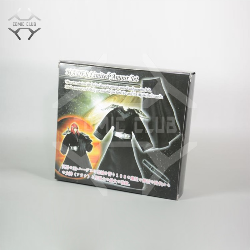 Figura DE ACCIÓN DE COMIC CLUB Patriot, modelo HADES, Saint Seiya, Set de armadura limitada, juguete