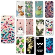 Für iphone 6 s fall abdeckung blume Nette Katze für iphone xs capinha carcasa für iphone 5 5s se 2020 6 s 6 s 7plus 8plus x xs fall