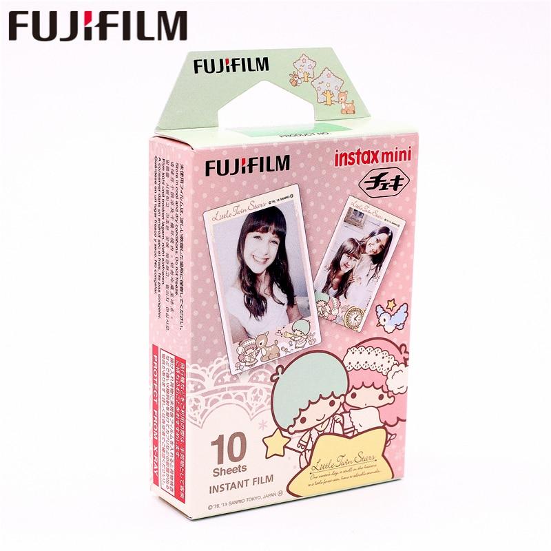 Fujifilm Instax con estrellas de Mini instantánea película fotográfica de papel para Instax Mini 8 7s 7 50s 50 i 90 25 9 SP-1 SP-2 Cámara