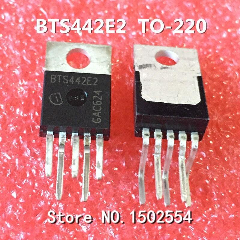 20 шт./лот BTS442E2 TO220-5 автомобильный ПК Чувствительный чип транзистор мост Драйвер IC Гарантия качества