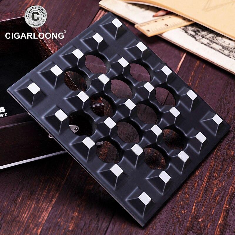 cigar ashtray fashion creative ebony metallic four-slot large ashtray CE-0011 enlarge