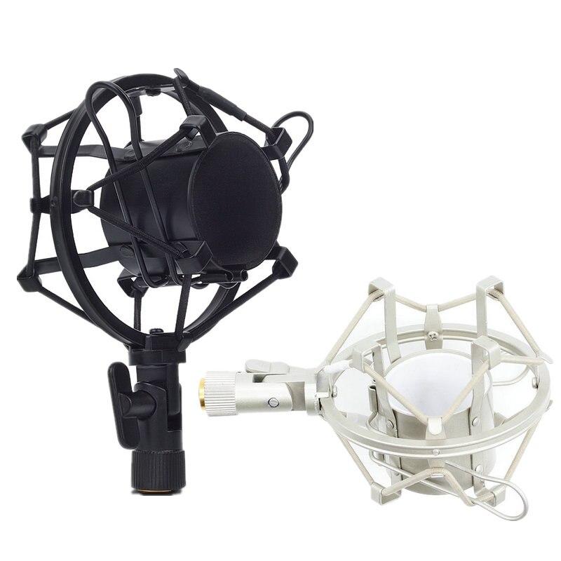 Металлический Shockmonut Студийный микрофон для записи, ударный Держатель для микрофона с пауком, зажим для трансляции компьютера BM 700 800 BM-800 BM-700
