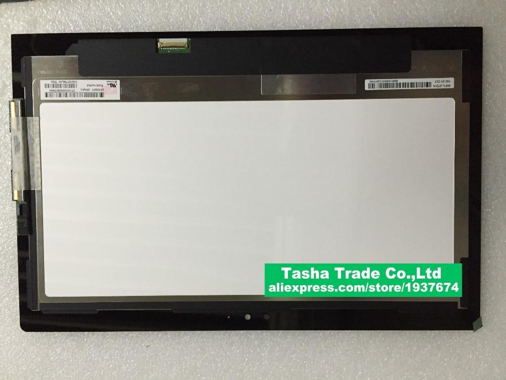 Pantalla LCD de ordenador portátil LP133WF3 SPA1 LCD de montaje de pantalla táctil para Toshiba P35W-B3226 haga clic en 2 Pro 13,3