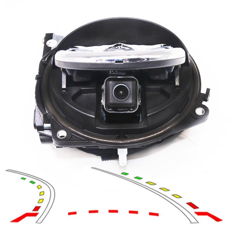 Para logotipo de VW, cámara con tapa, vista trasera, reversa, emblemas, emblema, cámara de maletero para GOLF 6/GTI/R Magotan B6/7, Lamando CC Beetle Passt Polo
