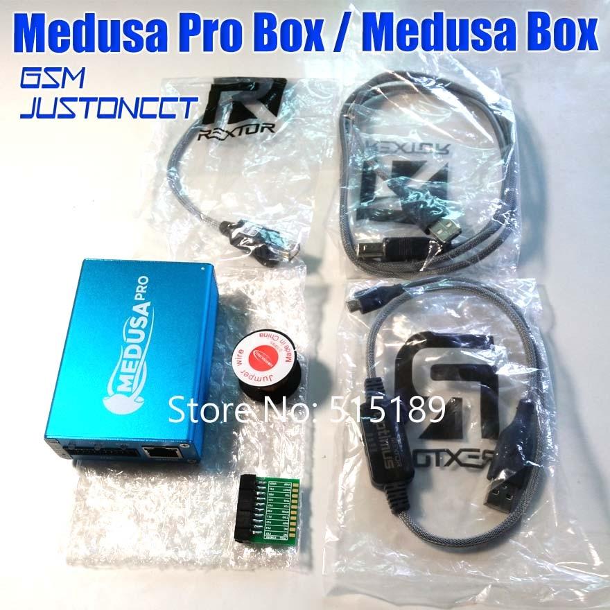 100% ORIGINAL Medusa PRO Box Medusa Box + JTAG Clip MMC For LG For Samsung For Huawei with Optimus cable